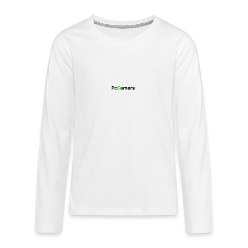 pcgamers-png - Maglietta Premium a manica lunga per teenager