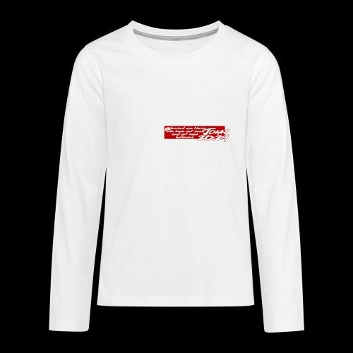 OVER REASON 2 - Camiseta de manga larga premium adolescente
