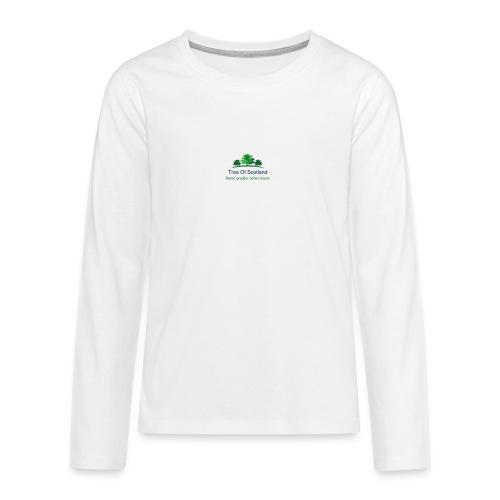 TOS logo shirt - Teenagers' Premium Longsleeve Shirt