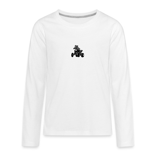 Motocross QuadLady - Teenager Premium Langarmshirt
