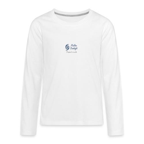 sunlight - Teenager premium T-shirt med lange ærmer