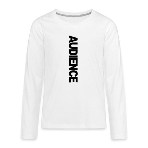 audienceiphonevertical - Teenagers' Premium Longsleeve Shirt