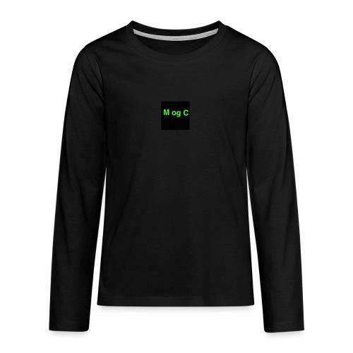 mogc - Teenager premium T-shirt med lange ærmer