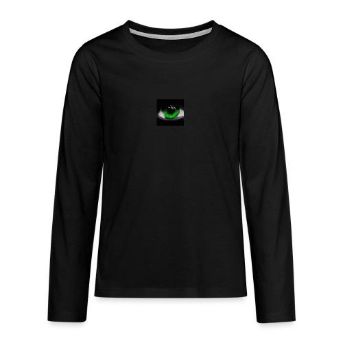 Green eye - Teenagers' Premium Longsleeve Shirt