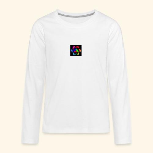 logo - Maglietta Premium a manica lunga per teenager
