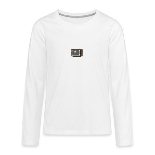 la télé - T-shirt manches longues Premium Ado