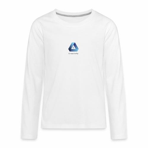 creativfy - Teenager Premium Langarmshirt