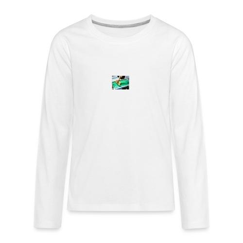 descarga - Camiseta de manga larga premium adolescente