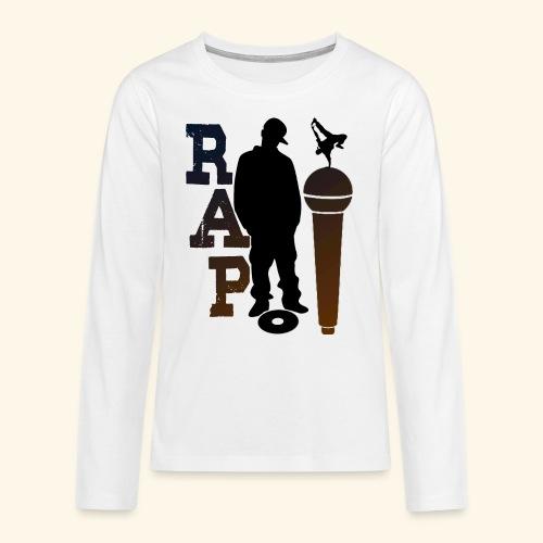 RAP - T-shirt manches longues Premium Ado