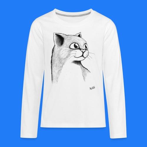 CAT HEAD by AGILL - T-shirt manches longues Premium Ado