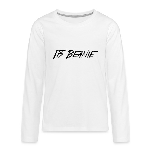 1st png - Teenagers' Premium Longsleeve Shirt