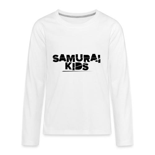 Samurai Kids - Teenager Premium Langarmshirt