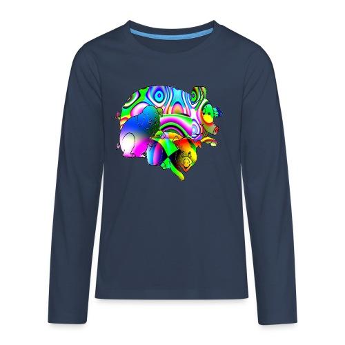 Les cochons - T-shirt manches longues Premium Ado