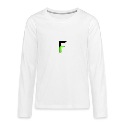 fatalF png - Teenagers' Premium Longsleeve Shirt