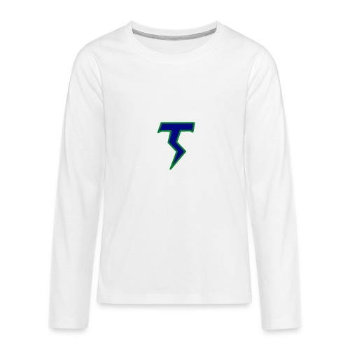 Thunder T png - Teenagers' Premium Longsleeve Shirt