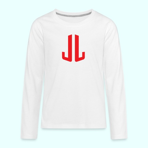 JL + NEXT LEVEL BODY - Teinien premium pitkähihainen t-paita
