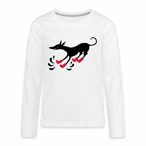 Latakko Loiskis - Teinien premium pitkähihainen t-paita