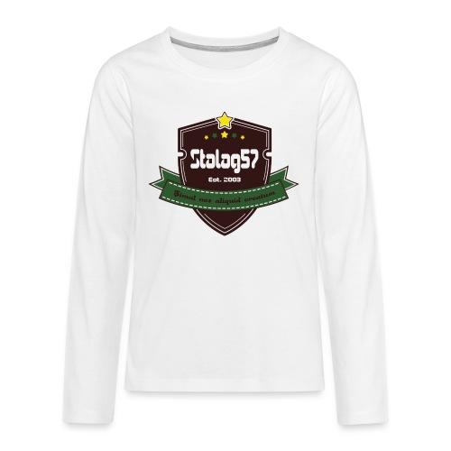 logo - T-shirt manches longues Premium Ado