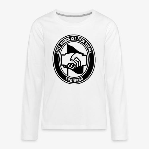 Logo Troihand - Teenager Premium Langarmshirt