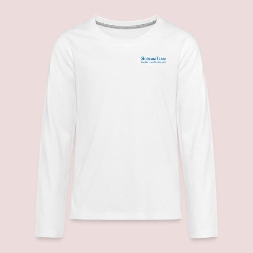 ScreamTeam Region 32 - Långärmad premium T-shirt tonåring