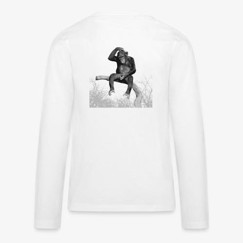 Monkey Music - Teenagers' Premium Longsleeve Shirt