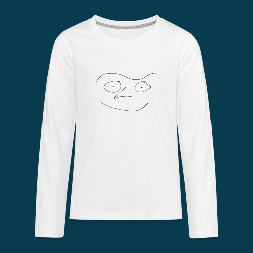 Chabisface Fast Happy - Teenager Premium Langarmshirt