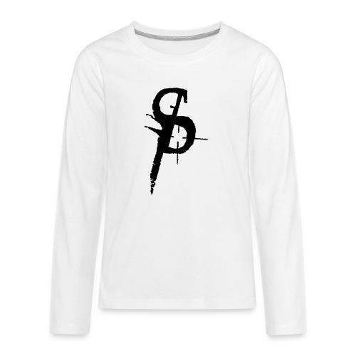 duality ps logo - Långärmad premium T-shirt tonåring