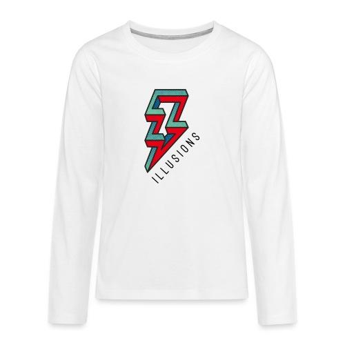 ♂ Lightning - Teenager Premium Langarmshirt