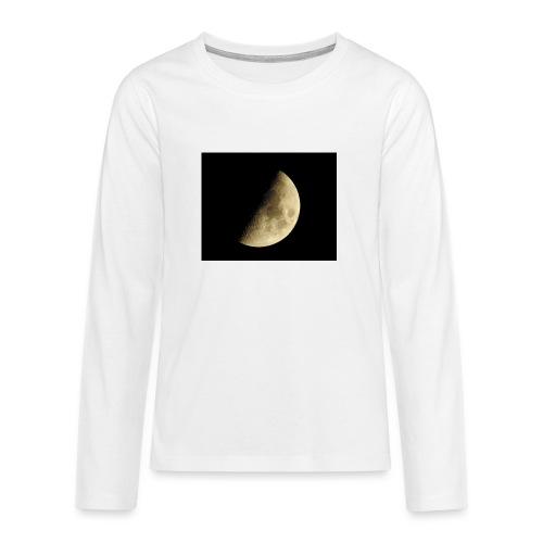 LUNA_3840X3072 - Maglietta Premium a manica lunga per teenager