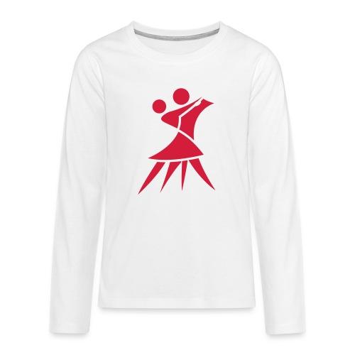 (Vector) Logo Paar - Teenager Premium Langarmshirt