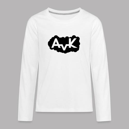 AvK Youngster Cloud - Teenager Premium Langarmshirt