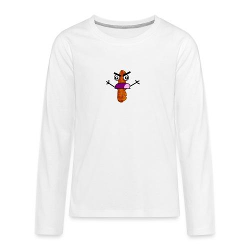 Bacon Man T-Shirt! - Teenagers' Premium Longsleeve Shirt