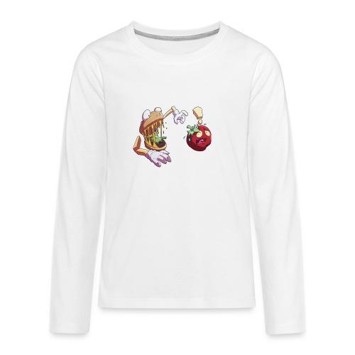 Tomato Chase - Twitch Back - Långärmad premium T-shirt tonåring