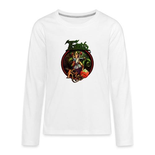 Tomato King - Twitch Back - Långärmad premium T-shirt tonåring