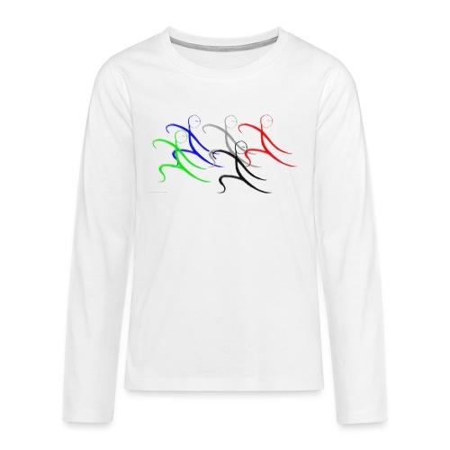 Tai Chi Gruppe - Teenager Premium Langarmshirt