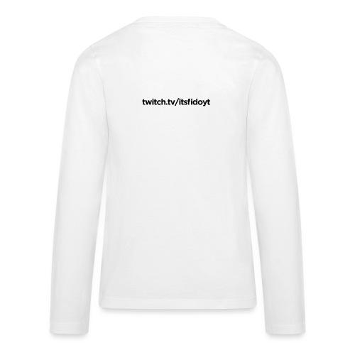 Fido - Twitch Link - Teenager premium T-shirt med lange ærmer
