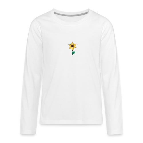 Sunflower - Teenager Premium shirt met lange mouwen