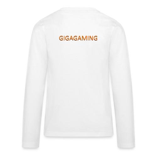 GIGAGAMING - Teenager premium T-shirt med lange ærmer