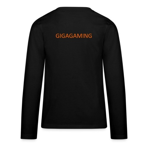 GIGAGAMING - Teenager premium T-shirt med lange ærmer