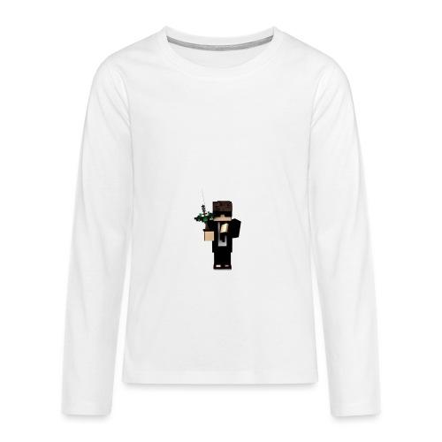 ichbincool png - Teenager Premium Langarmshirt