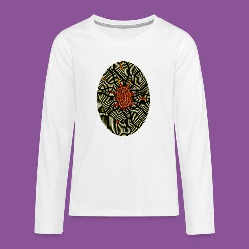 Aura 11 - Teenager Premium Langarmshirt