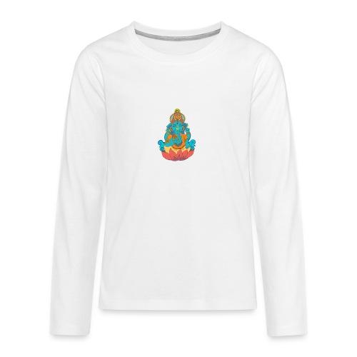 IMG_0288 2 - Långärmad premium T-shirt tonåring