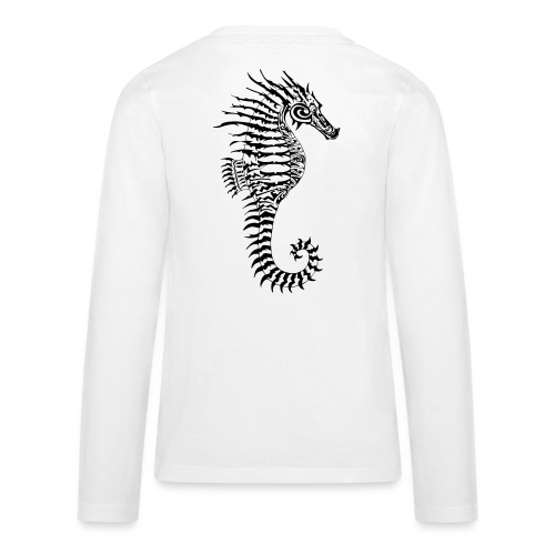 Alien Seahorse Invasion - Teenagers' Premium Longsleeve Shirt