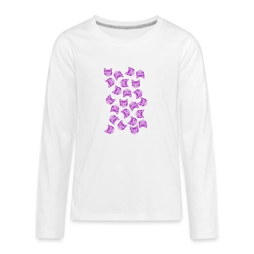 Magenta Mollys - Teinien premium pitkähihainen t-paita