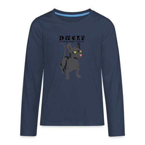 DWELF - Teinien premium pitkähihainen t-paita