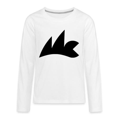 Logo_Micro_Class_vektor - Teenager Premium Langarmshirt