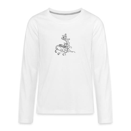 LoGo - Premium langermet T-skjorte for tenåringer