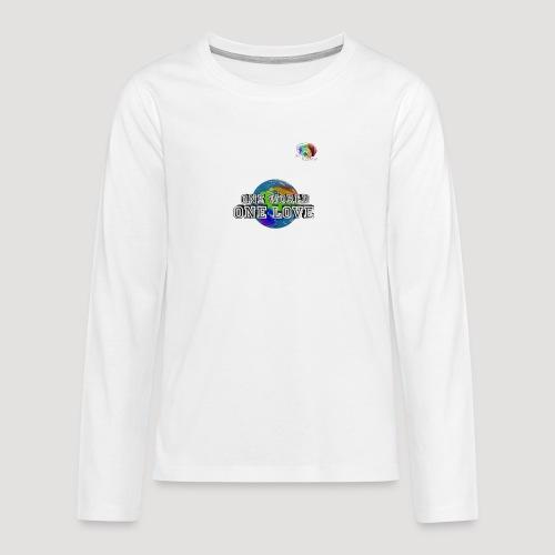 Shirt5 - Teenager Premium Langarmshirt