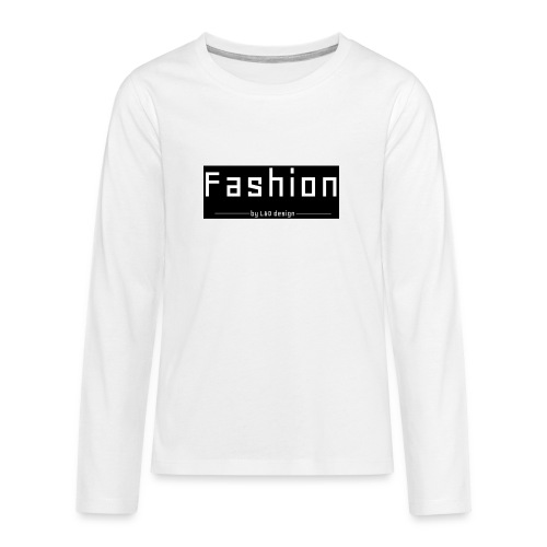 fashion kombo - Teenager Premium shirt met lange mouwen