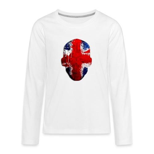 Borg Robot Cap - Teenagers' Premium Longsleeve Shirt